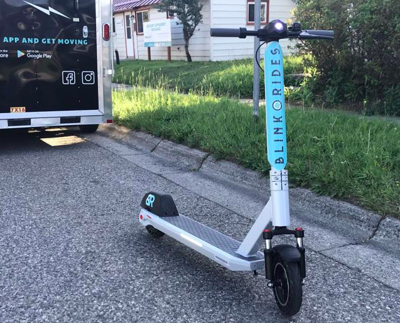 Electric scooters in Bozeman getting ready to hibernate for the winter