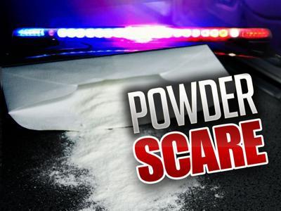 White powder found in Helena MVD