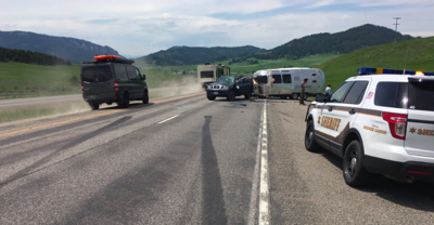 MHP responds to crash on Bozeman Hill