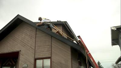 Butte couple gets new roof
