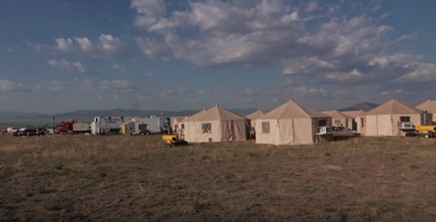 A look inside the North Hills Fire Camp