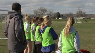 The Billings United U19 girls club soccer team