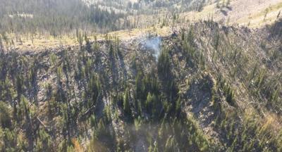Lightning strikes start several small fires in Bitterroot National Forest