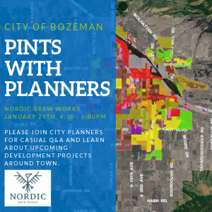 Pints with Planners back by popular demand
