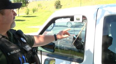Missoula County Animal Control rescues pig from hot car