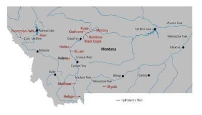 Madison River Montana Map.Hebgen Dam Project Madison River Basin Snowpack In Good Shape