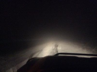 Road conditions on and around the Bozeman Pass