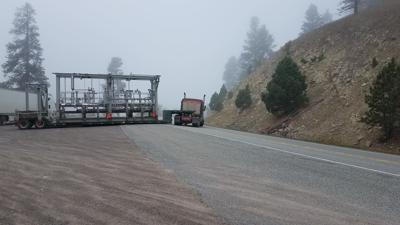 truck blocking highway 200