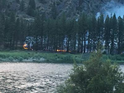 bass pond fire sanders county