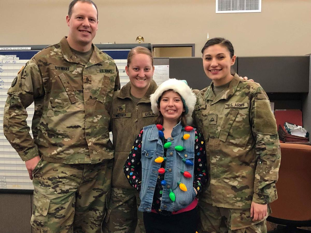 Charlotte's cards spreads holiday cheer to first responders across Montana