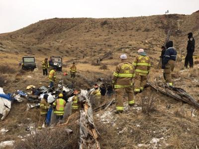 Plane crashes 30 miles North of Billings no known survivors