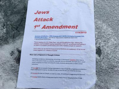 Anti-Semitic Flyers