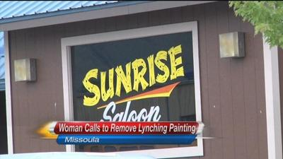 Controversy Over Lynching Painting In Sunrise Saloon