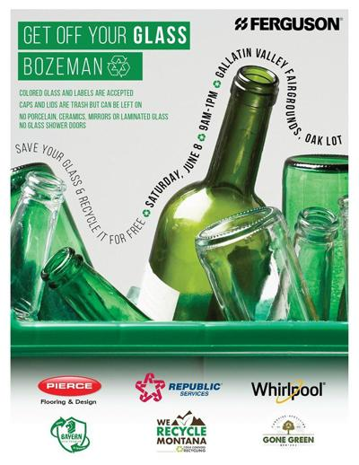 Hey all you wine drinkers- recycle your empty bottles for free this weekend
