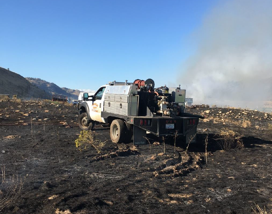 Spring Coulee Fire Rig