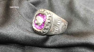 Lost class ring returning to Wyoming man after 27 years