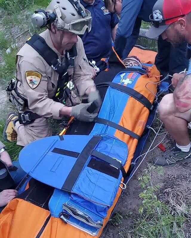 Tick bite leads to helicopter rescue