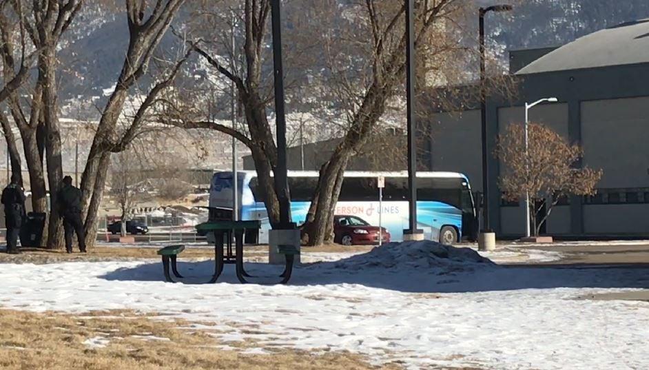 butte bus standoff