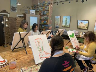 Bozeman Business Boom: A sip and paint class that went to the dogs