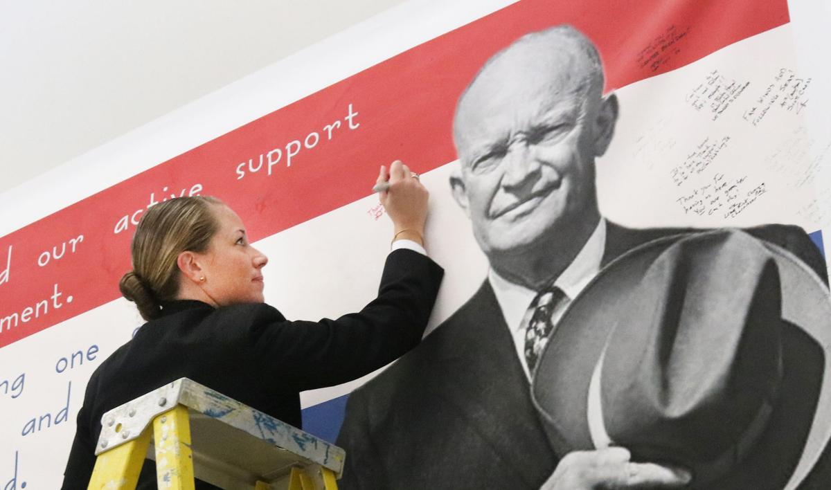 Eisenhower banner