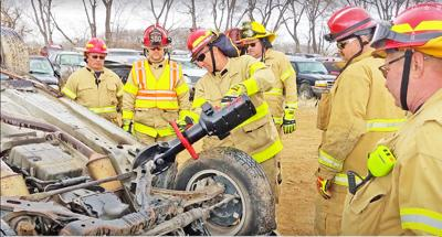Abilene Fire Department extrication training