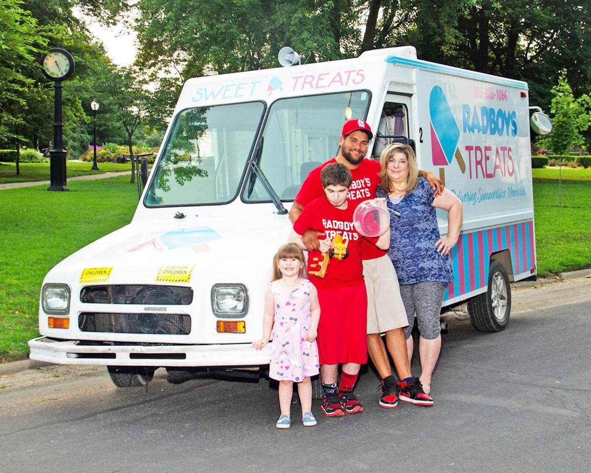 Najera Family and RADBOY TREATS ice cream truck