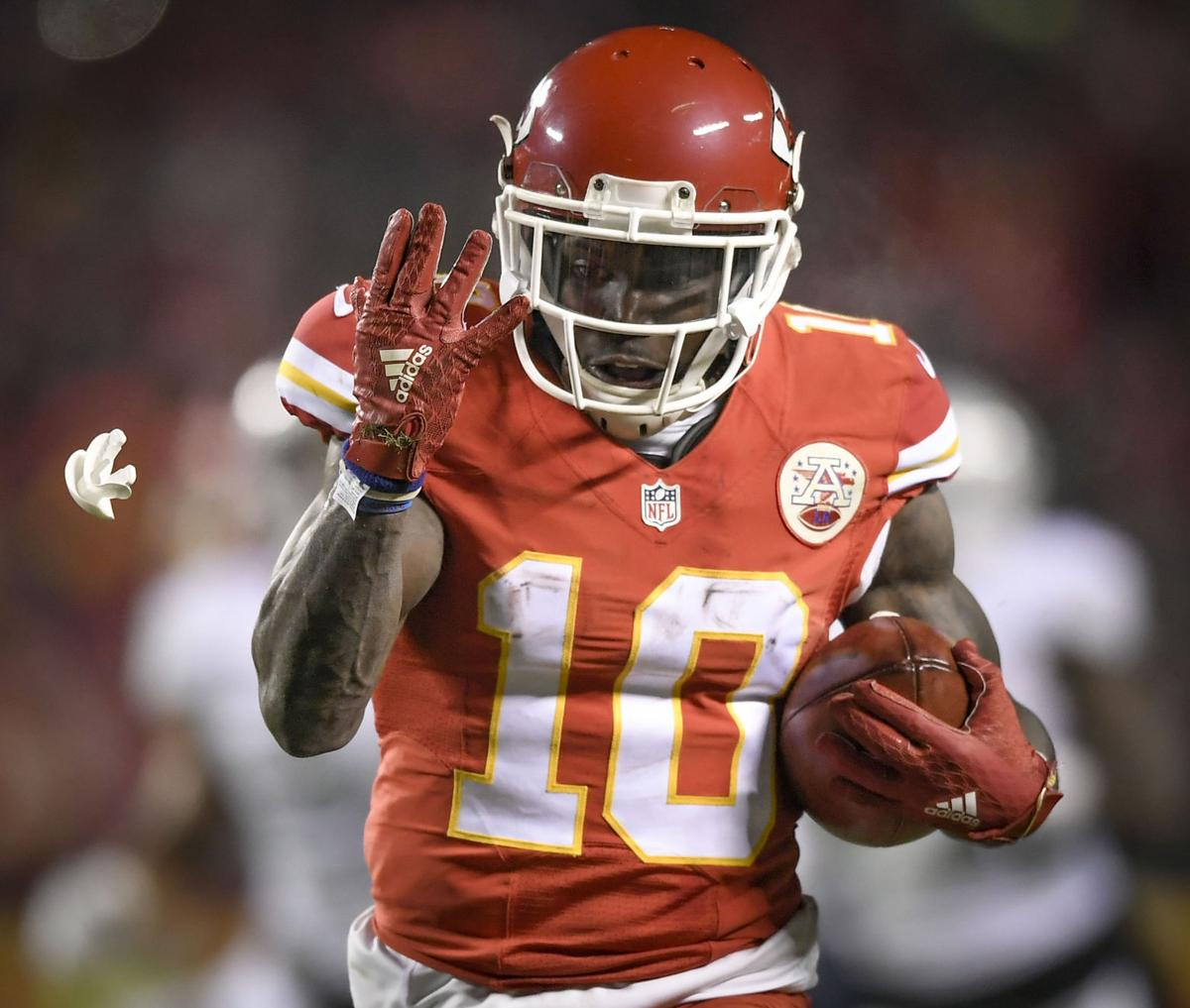 Chiefs need Tyreek Hill to be more Steve Smith than Devin Hester