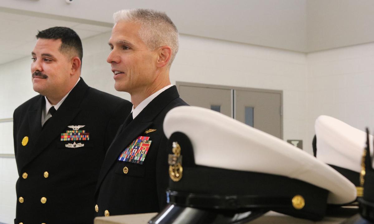 USS Eisenhower delegation