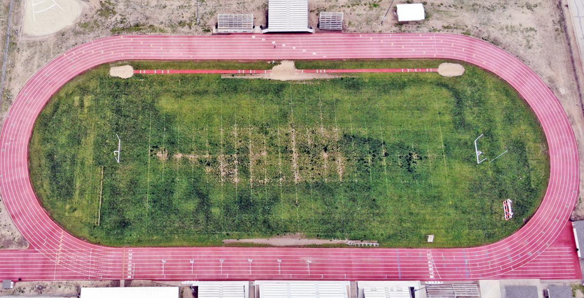 Stadium - drone shot