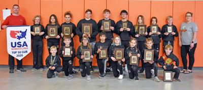 Abilene Kids Wrestling Club places fourth at State Tournament