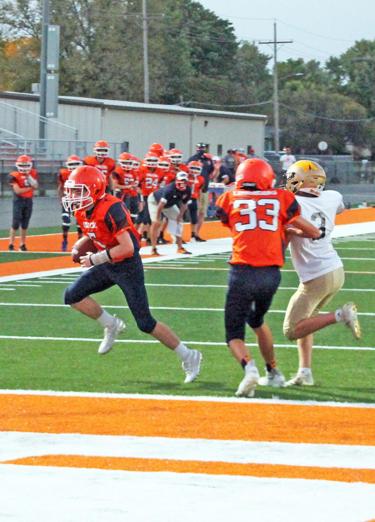 Hartman touchdown
