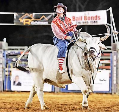 Rodeo Clown Dusty Myers