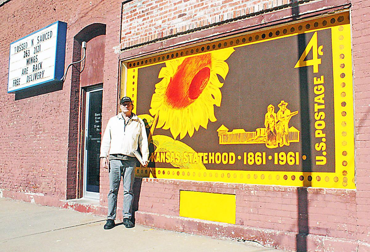 Artist puts his touch on buildings\' walls | News | abilene-rc.com