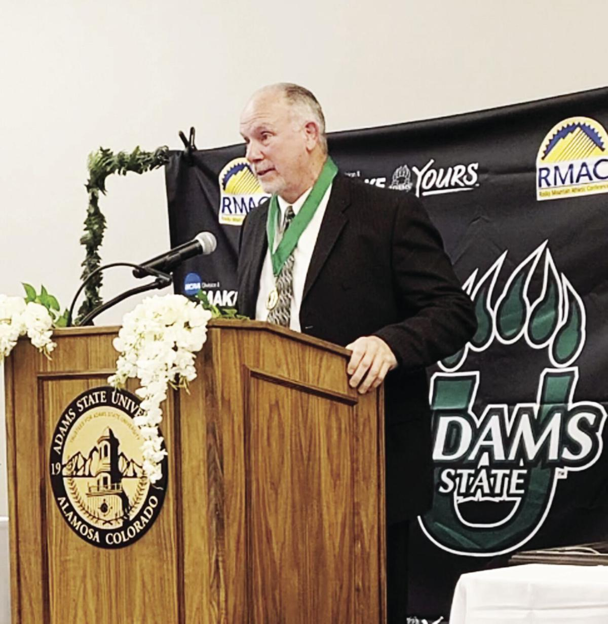 Mentally tough: Palmer inducted into Athletic Hall of Fame at Adams State College after  distinguished wrestling career