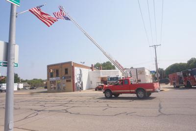 Fire department tribute