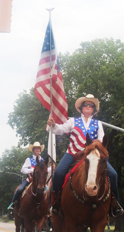 Mounted Flag Corps