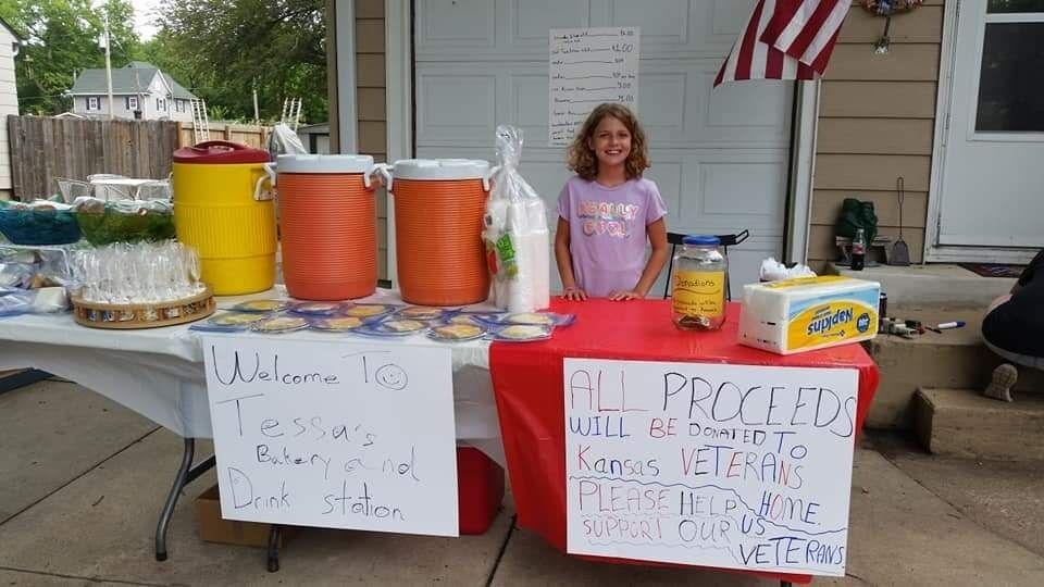 Tessa's lemonade stand