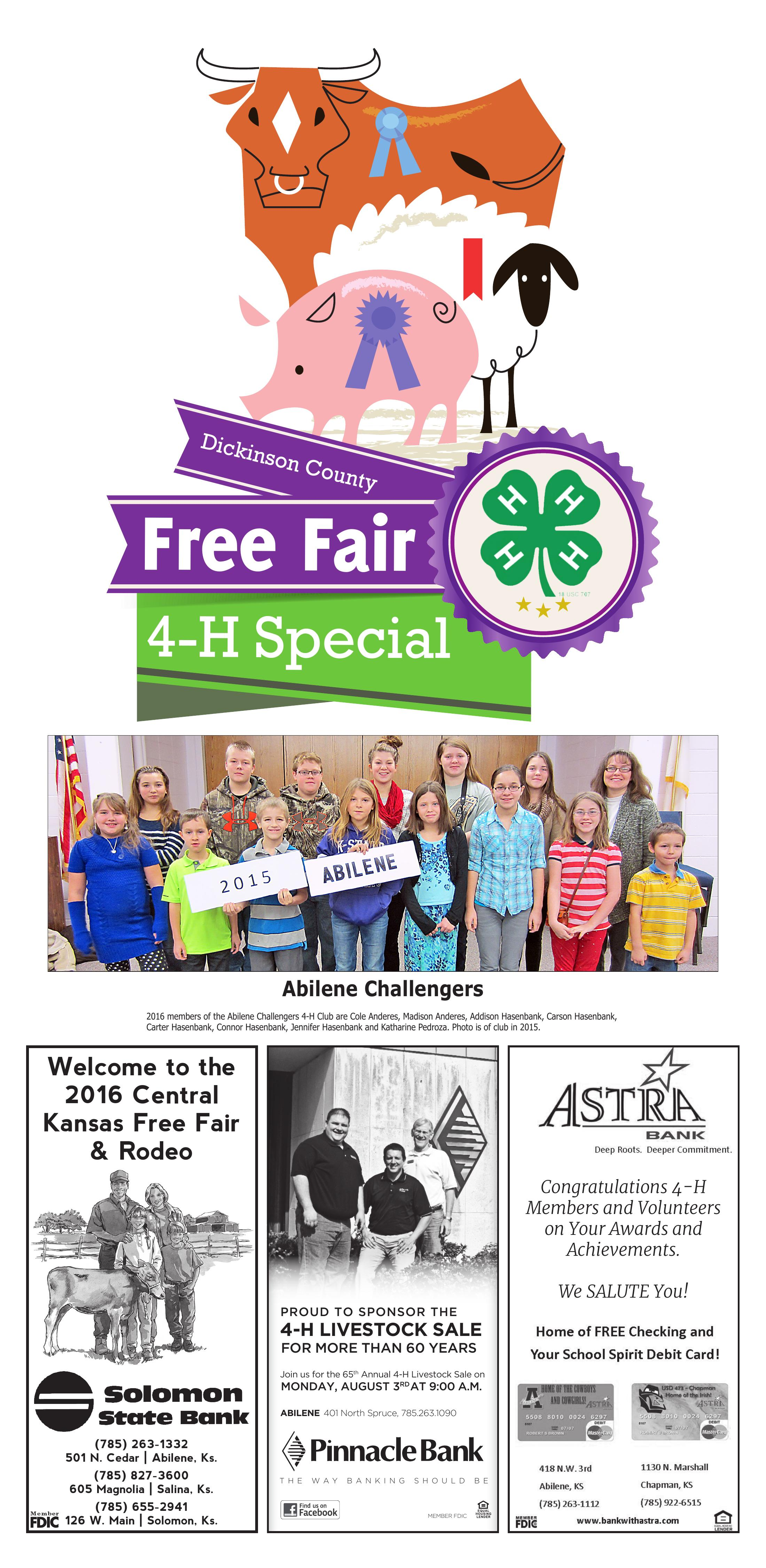 Kansas dickinson county solomon - Dickinson County Free Fair 1