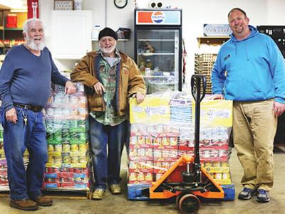 Simmons Hanly Conroy employees donate 27,378 pounds of food