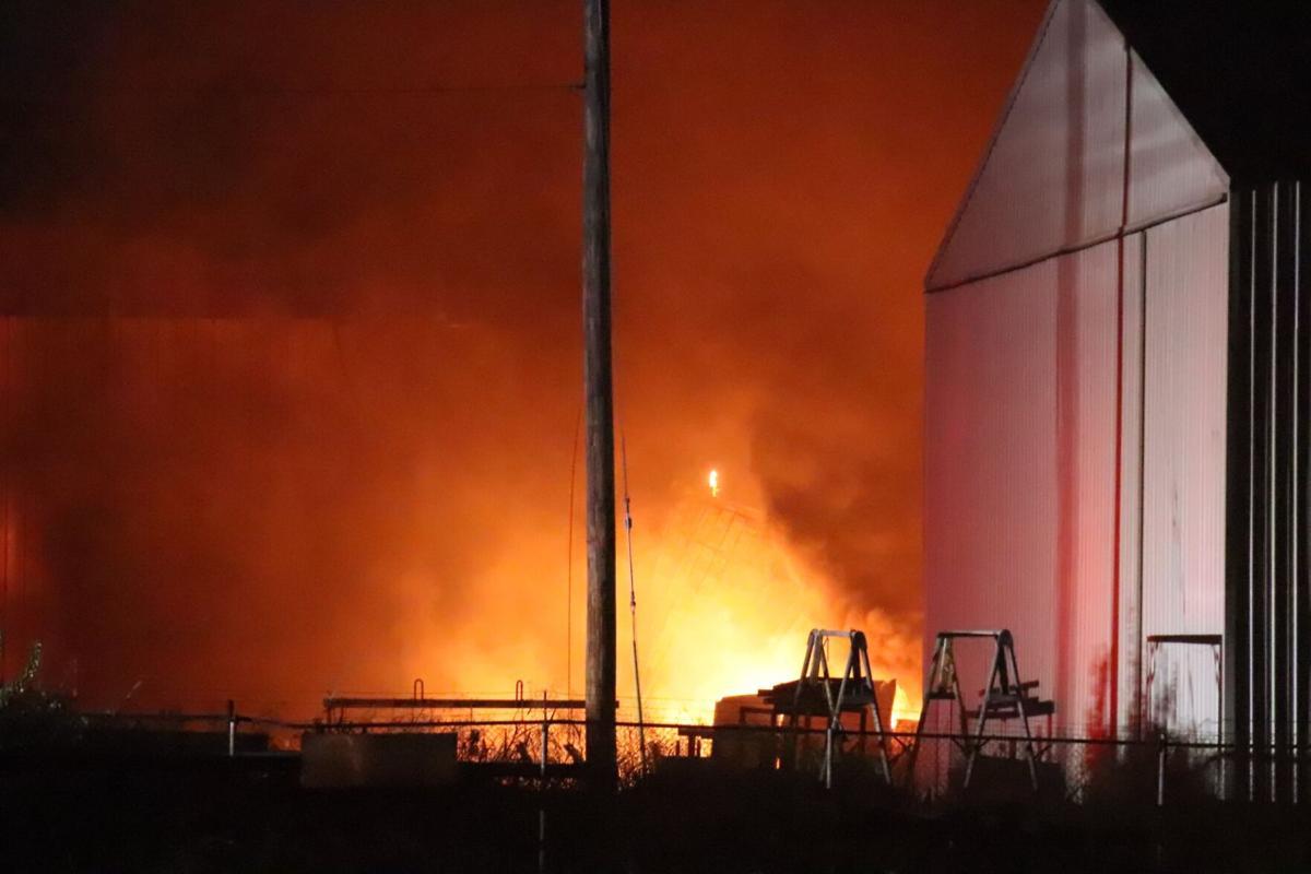 Warehouse fire - Granite City 1