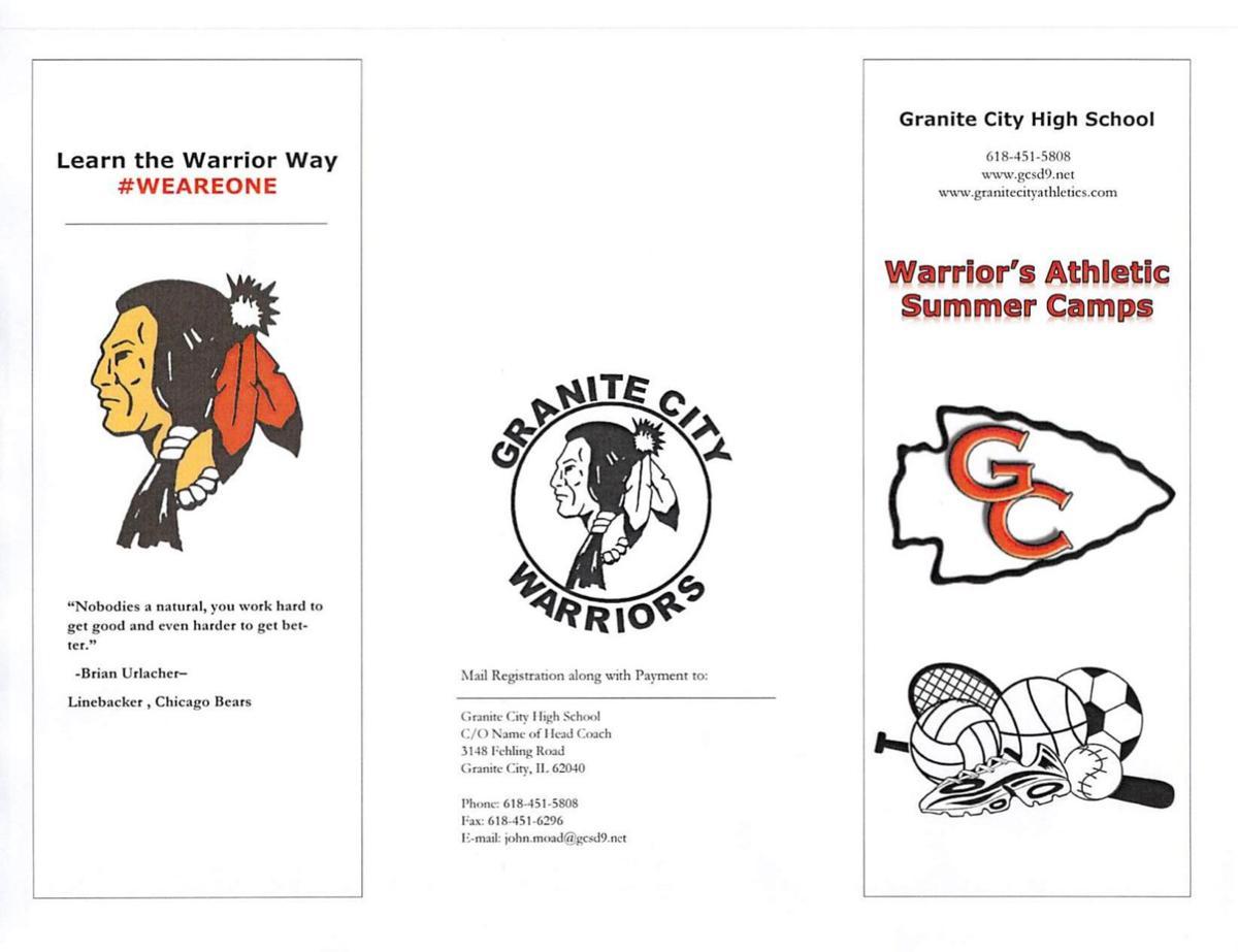 2021 Camp Brochure