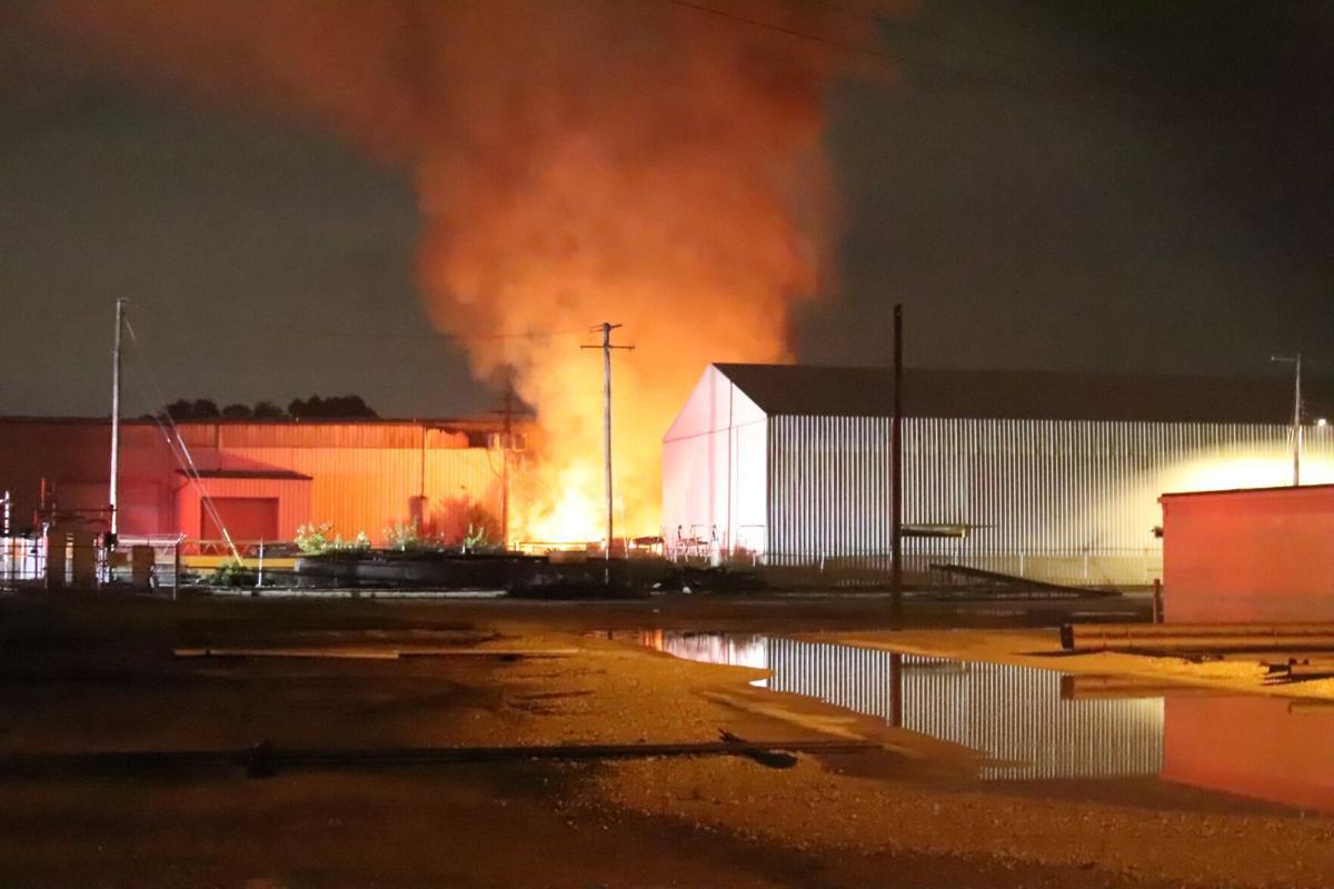 Warehouse fire - Granite City 2