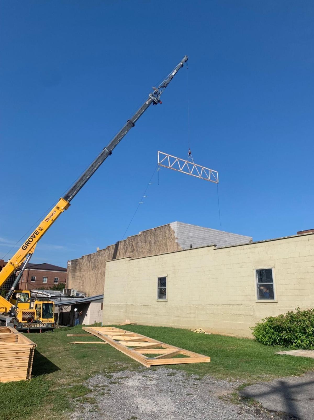 Lifting Rafter
