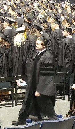 Jackson Moss Gets PhD.
