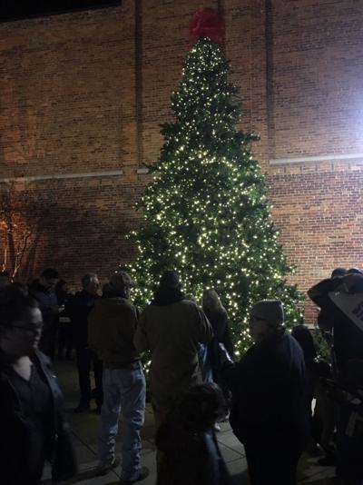 Lighting the City Tree