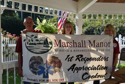 Marshall Manor Appreciation Cookout