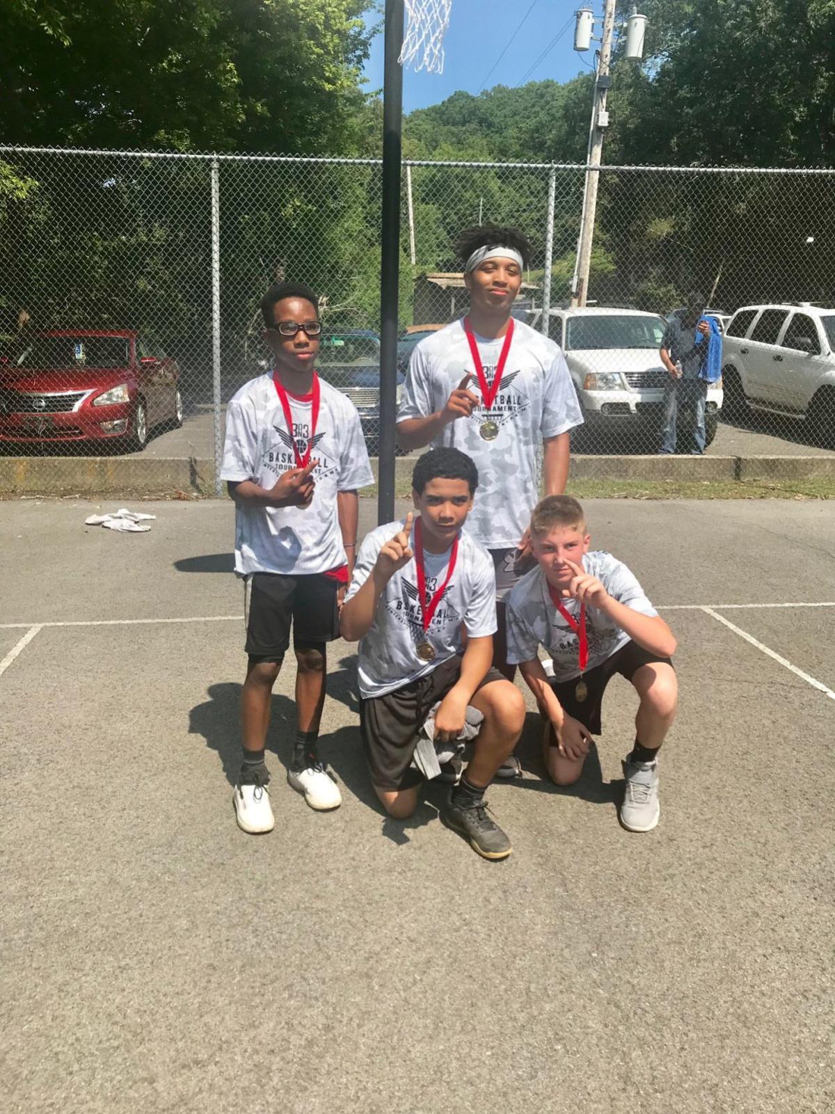 15-18 Age Group Winners