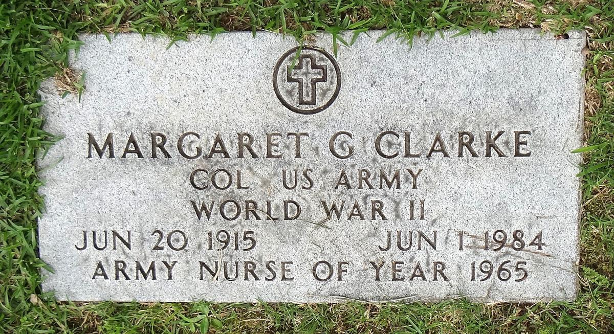 Margaret Clarke Grave Marker
