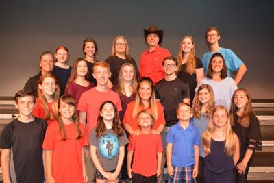 The G'ville Cast Members of Will Rogers Follies
