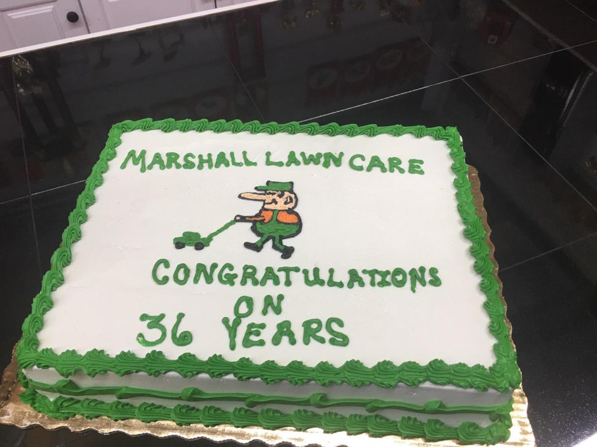 Lawncare Cake
